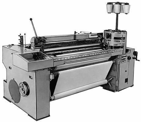 Рис. 2. Многозевный ткацкий станок. станка состоит из отдельных секций...