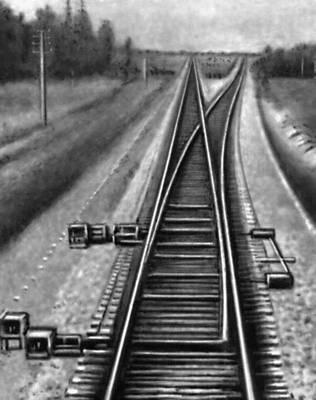 Стрелочная крестовина: часть железнодорожного стрелочного перевода или ромбовидного скрещения железнодорожных путей в.
