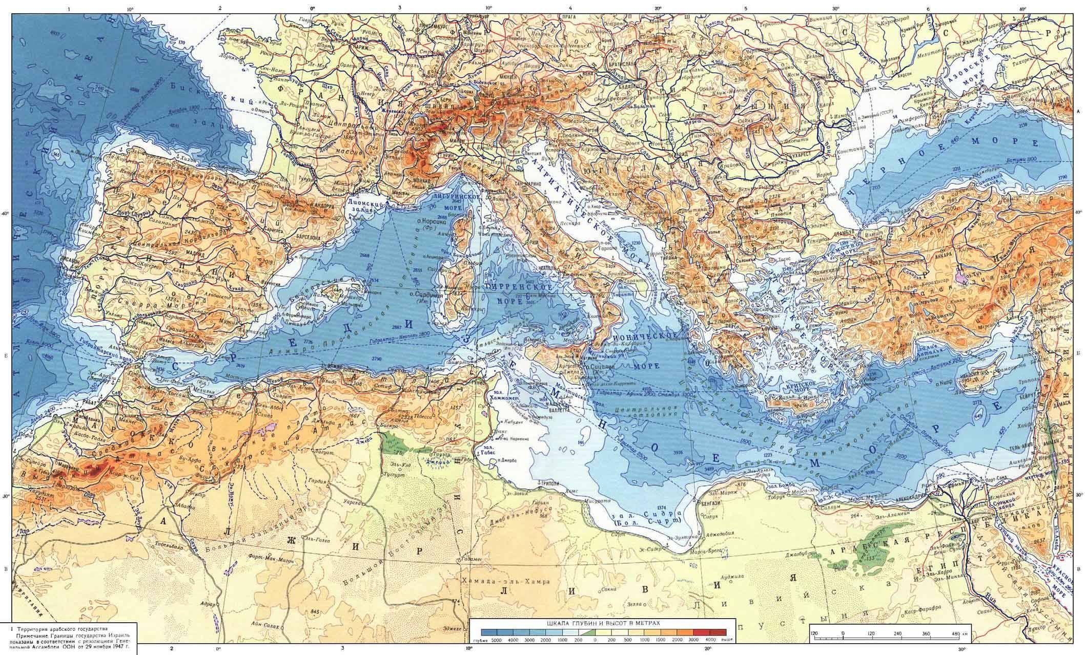 Картинки моря средиземного моря