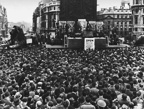 Вторая мировая война демонстрация с