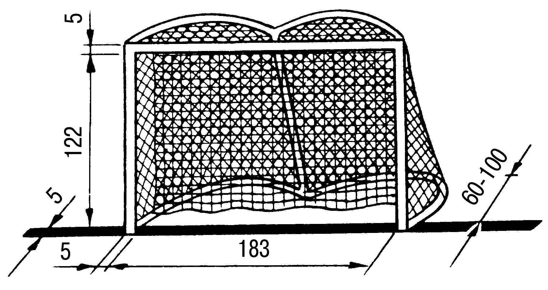 Как своими руками сделать хоккейные ворота