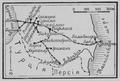 Карта: Закавказская железная дорога.
