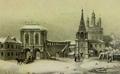 Картины, рисунки.  Старинные литографии.  Москва златоглавая.