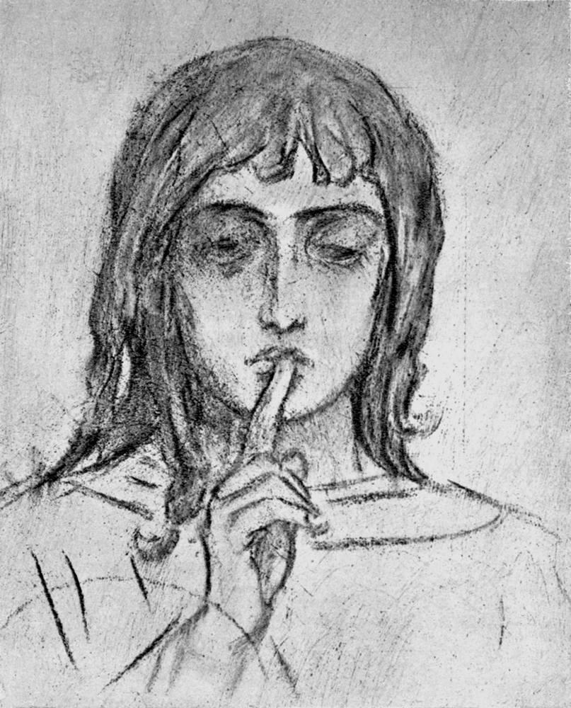 Ангел Молчания Васнецов В.М. начало 1900